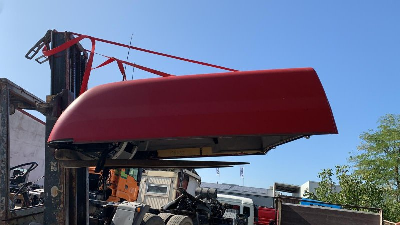 Крыша узкой кабины